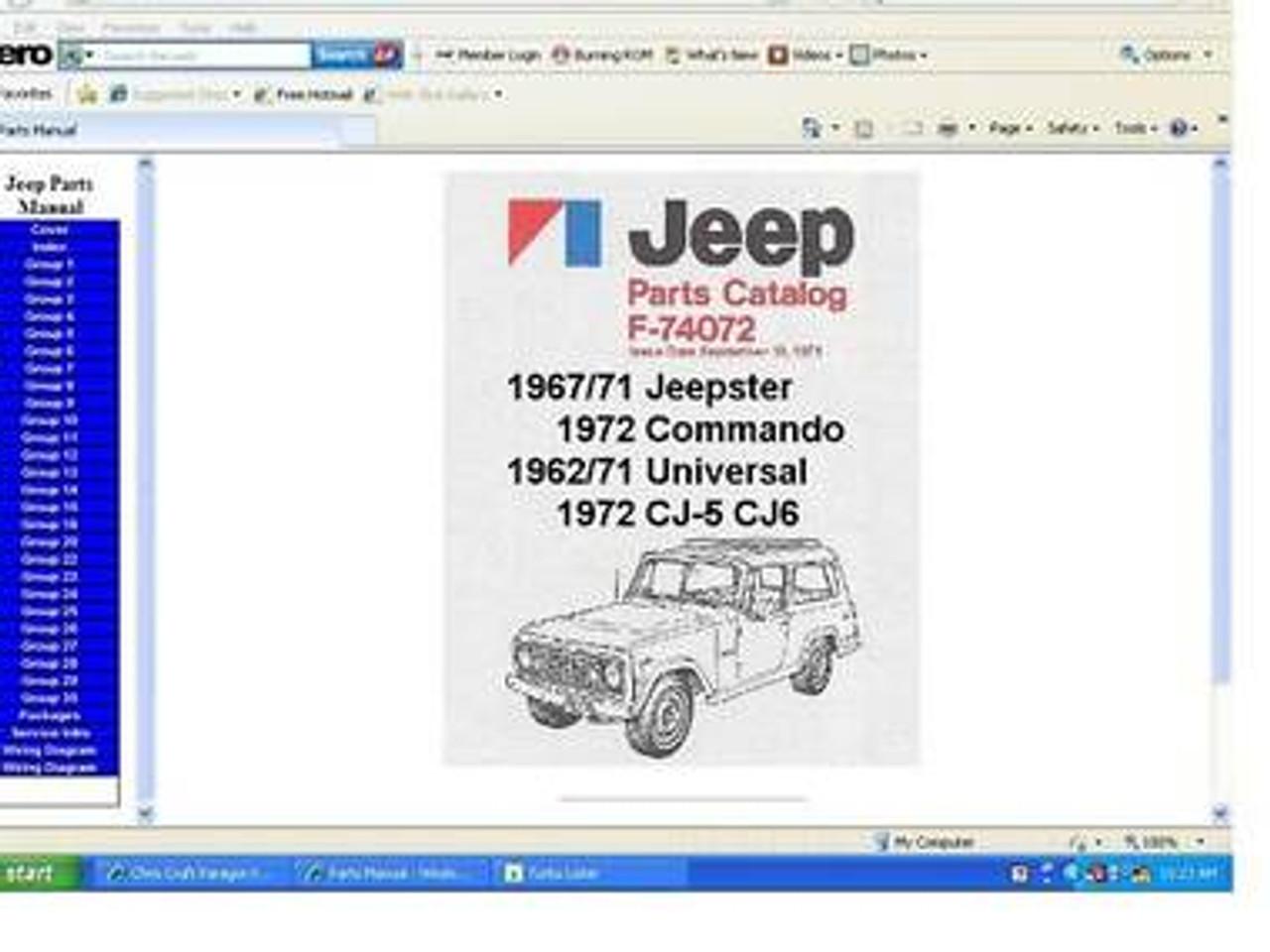 Jeep Tj Wrangler Factory Service Repair Manual 1997
