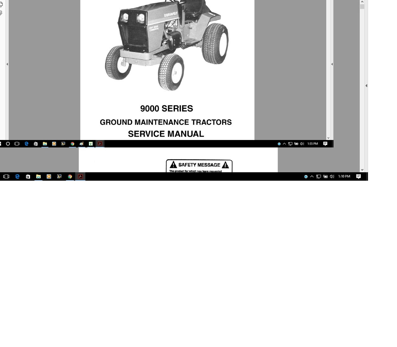 Gravely GMT 9000 continental R 800 R 836 engine manuals service parts  operations
