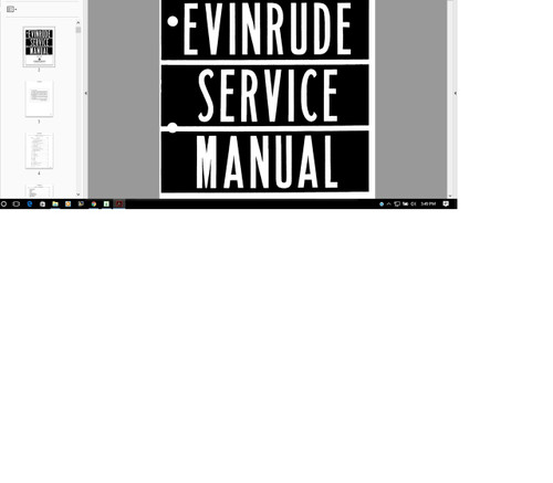 outboard motor service repair manual evinrude scott mercury rh repairmanuals4u com Mercury Outboard Parts Mercury Wi-Fi ManualsOnline