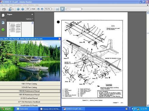 Cessna 206 Wiring Diagram Electrical Manual 206h T206h 206hwd