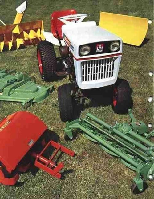 Bolens suburban GT ST tractor service repair manual 1984
