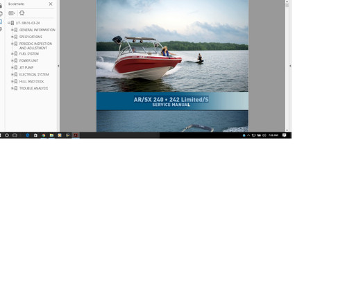 Service Manuals Cessna Beechcraft Yamaha Bolens Outboard Motors