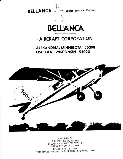 Bellanca Decathlon Service maintenance service pilot