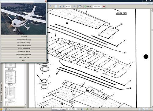 Cessna 206 T 206 service maintenance manual set + engine 1998 - 2008