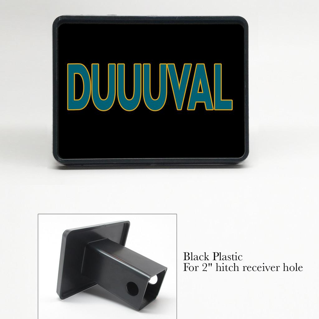 Duval Jacksonville Jaguars Duuuval Fan Trailer Hitch Cover Plug
