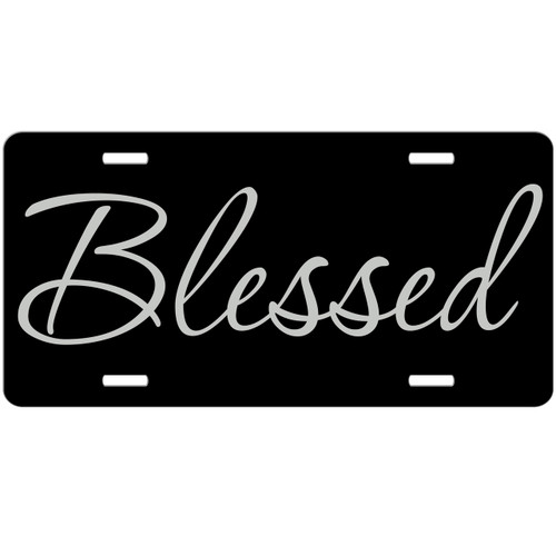 Blessed Custom License Plate - Christian