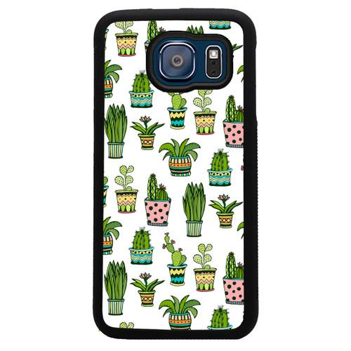 Cactus Samsung Case - Cactus Galaxy Case - Potted Catus Pots