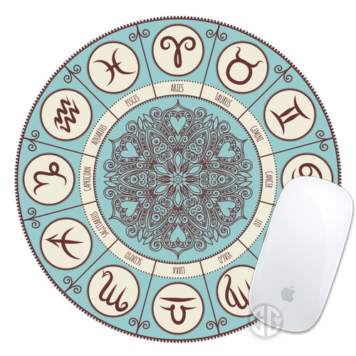 Mouse Pad Horoscope Astrology Signs Mousepad