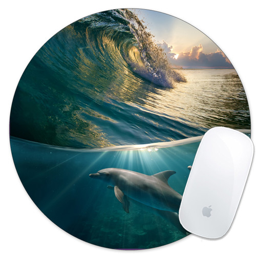 dolphin lover gift idea mouse pad mousepad mouse mat