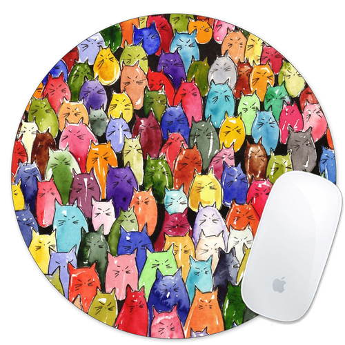 cat cats lover gift idea mouse pad mousepad mouse mat