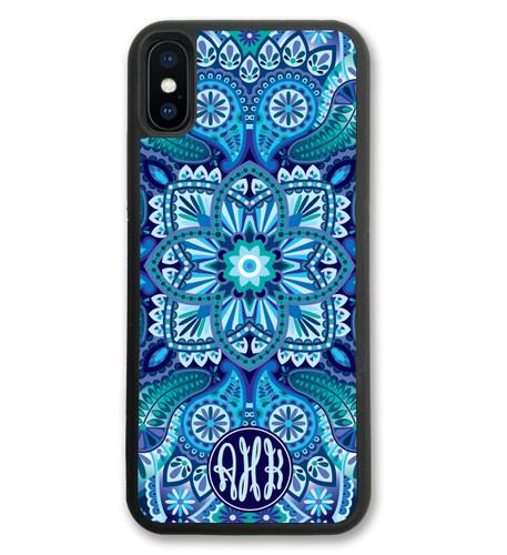 Blue Ornamental iPhone Case