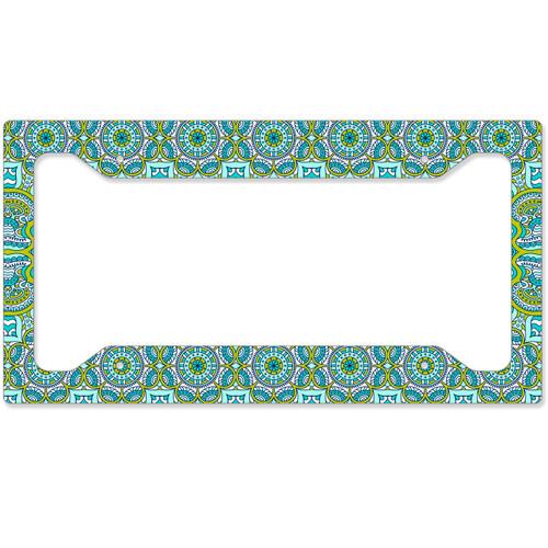Spring Boho License Plate Frame, Car Tag Frame, License Plate Cover