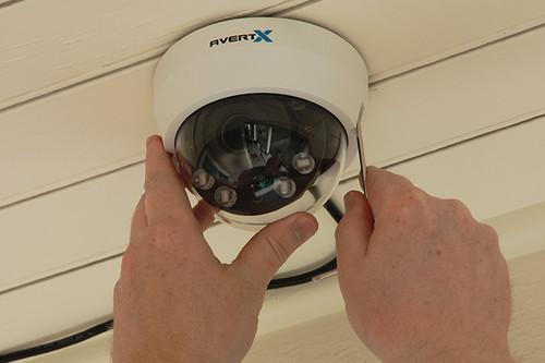 HD810 4MP Autofocus Night Vision Indoor/Outdoor IP Dome Camera