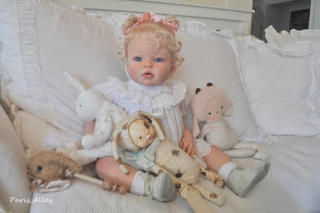 Arianna Awake Toddler Doll Kit by Reva Schick