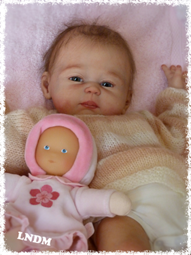 Carmela Vinyl Doll Kit by Sheila Michael