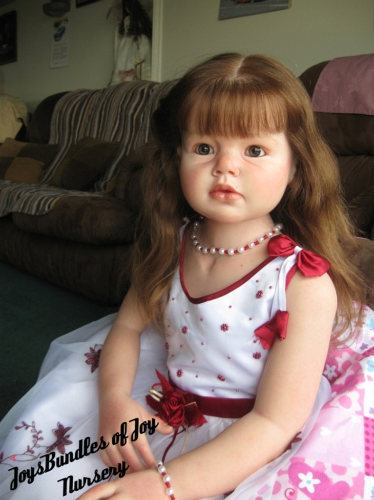 Angelica Reborn Vinyl Doll Kit by Reva Schick