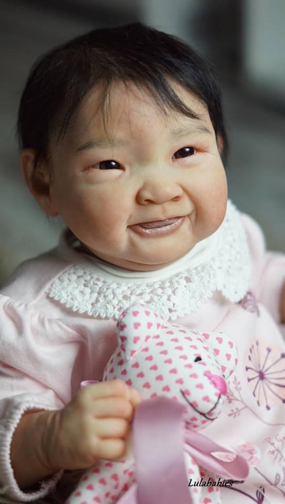 Keiko Reborn Vinyl Doll Kit by Jorja Pigott