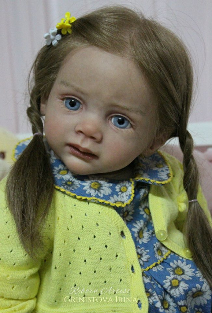 Fritzi Doll Kit by Karola Wegerich