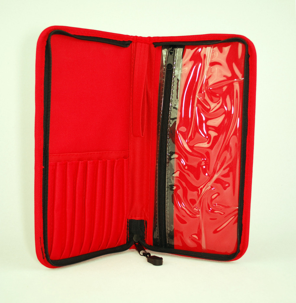 Silver Brush Short Handle Monaco Deluxe Travel Case for Brushes  9680,85,90  CHOOSE YOUR COLOR