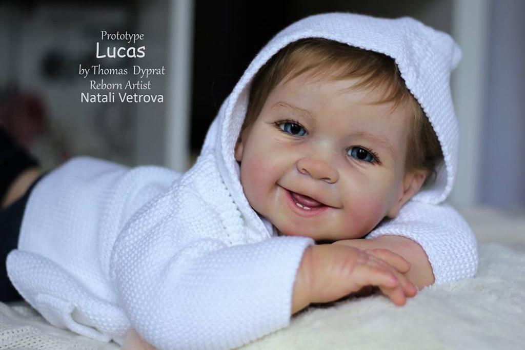 Lucas / Zoe Doll Kit by Tomas Dyprat