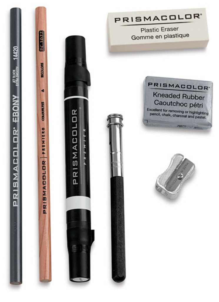 Prismacolor Colored Pencil Accessory Set - 7 pieces