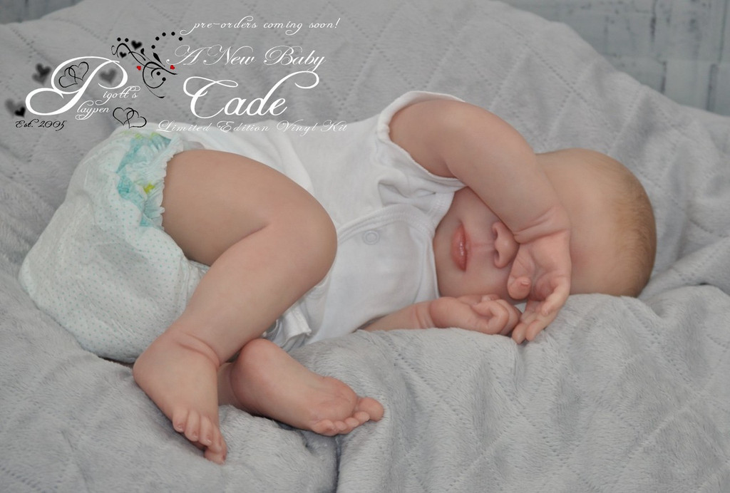 Cade Doll Kit by Jorja Pigott