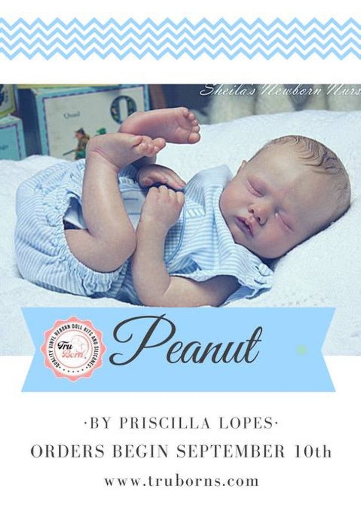 Peanut Doll Kit by Priscilla Lopes
