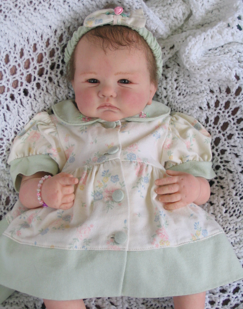 Tessa Reborn Vinyl Doll Kit by Didy Jacobsen
