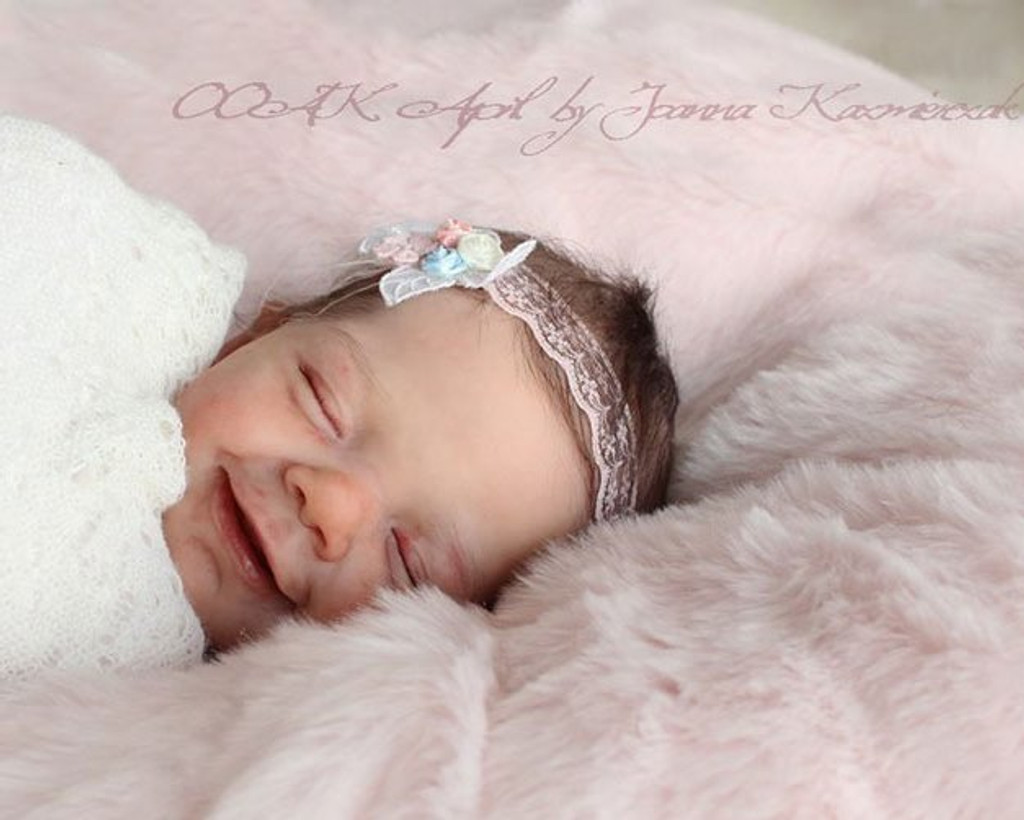 April Reborn Vinyl Doll Kit by Joanna Kazmierczak