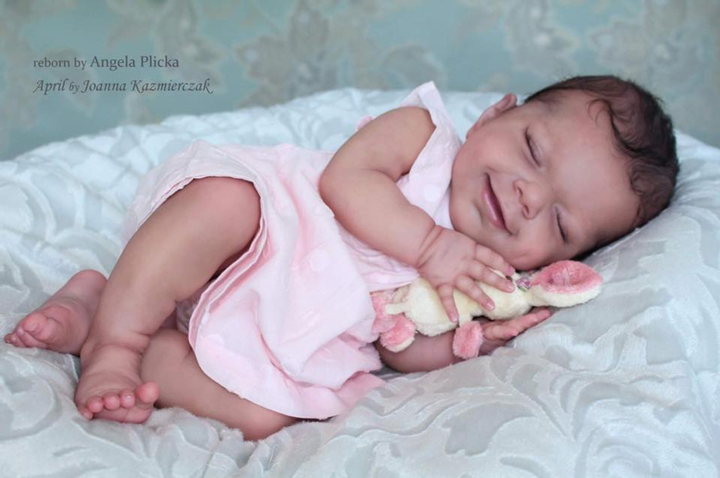 April Vinyl Reborn Doll Kit by Joanna Kazmierczak