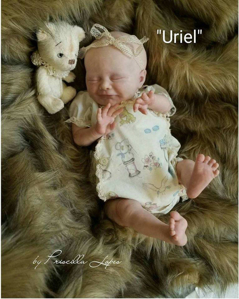 Uriel Doll Kit by Priscilla Lopes