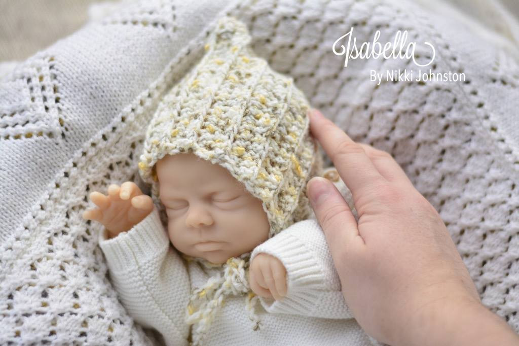 Isabella Reborn Doll Kit by Nikki Johnston