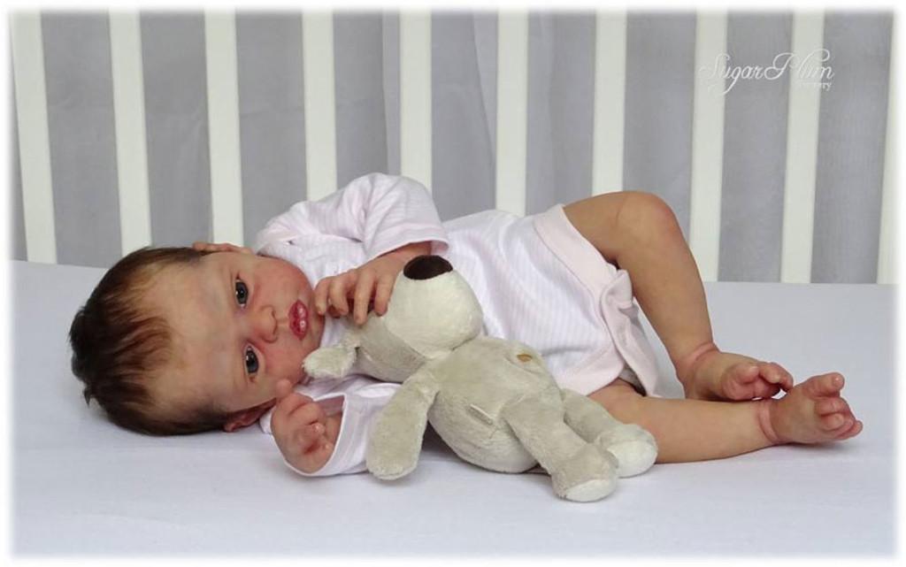 Lola Reborn Vinyl Doll Kit by Philomena Donnelly