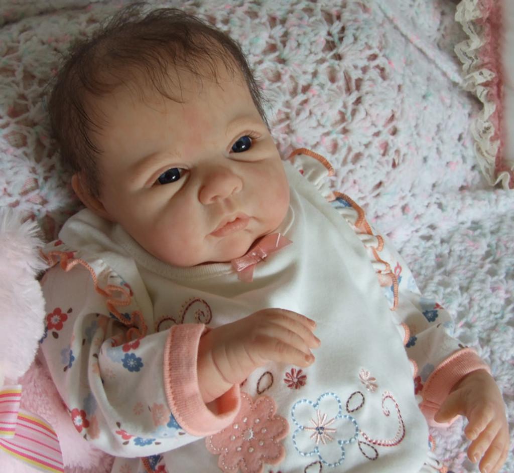 Saskia Reborn Doll Kit by Adrie Stoete