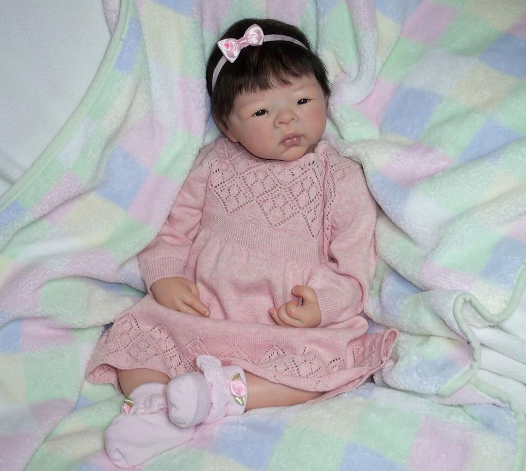 Jiao Reborn Doll Kit by Adrie Stoete
