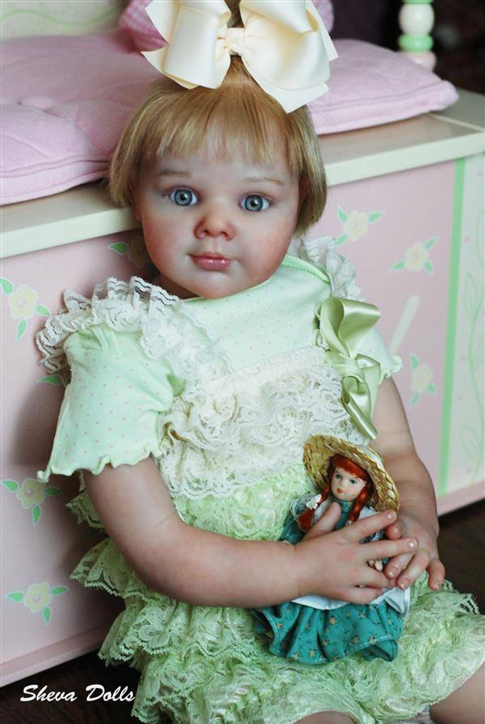 April Reborn Vinyl Doll Kit by Adrie Stoete
