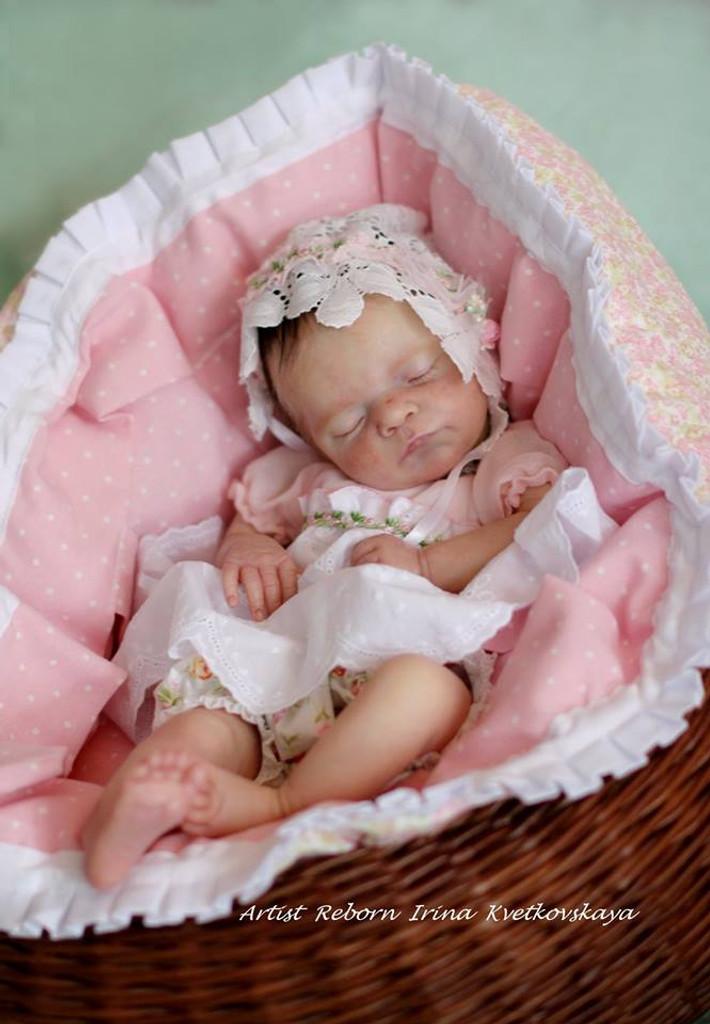 Luxe Reborn Vinyl Doll Kit by Cassie Brace