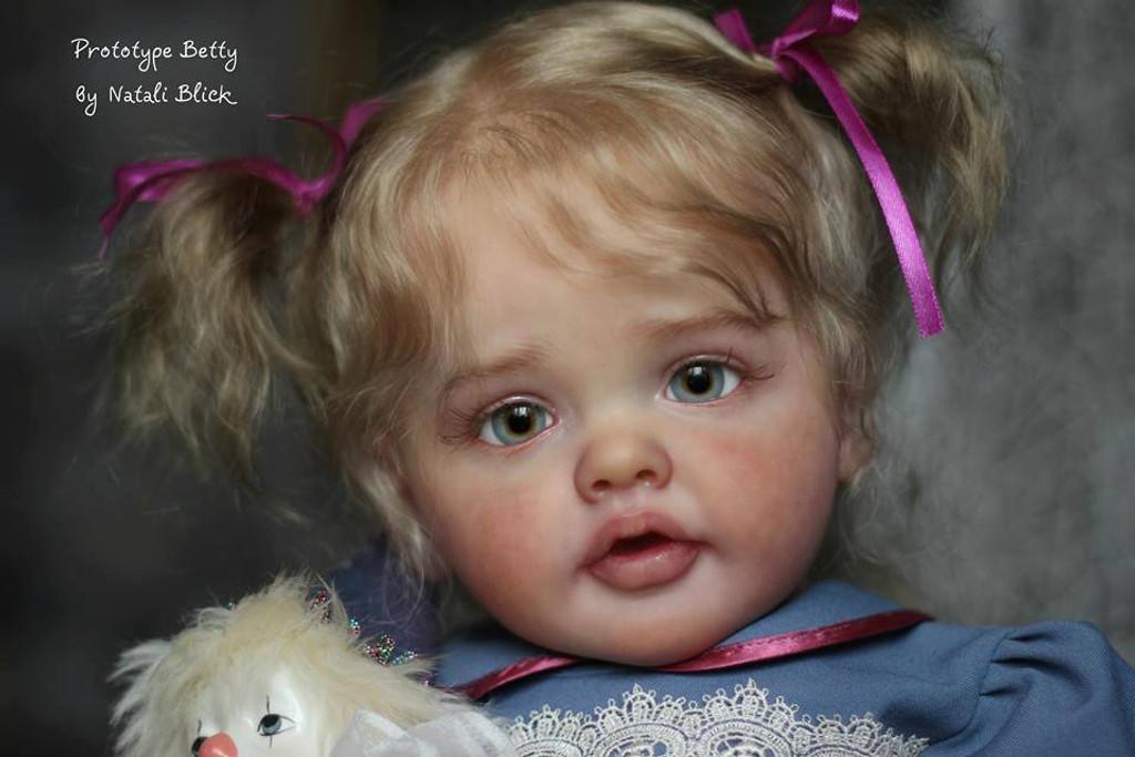 Betty Reborn Doll Toddler Kit by Natali Blick