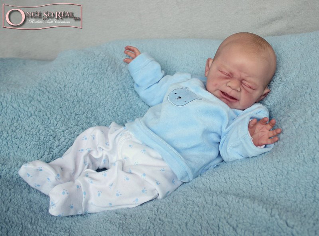 Leo Reborn Vinyl Doll Kit by Ulrike Gall