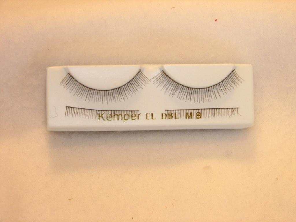 Double Eyelashes in Dark Brown - 32mm