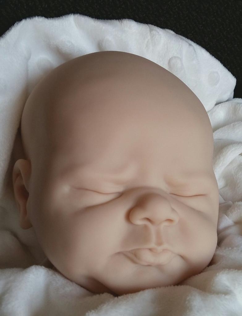 Adelina Vinyl Reborn Doll Kit by Elisa Marx