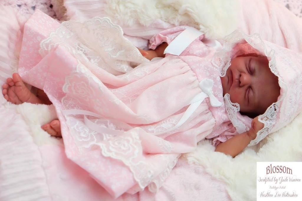 Blossom Reborn Preemie Vinyl Doll Kit by Jade Warner