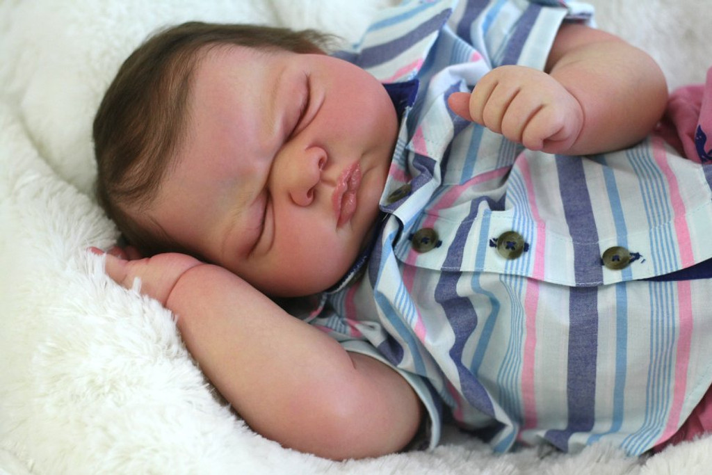 Kai Reborn Doll Kit by Nicole Russell