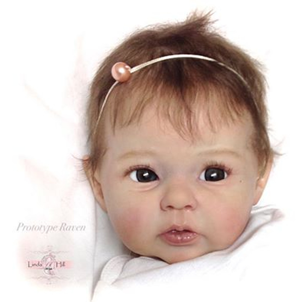 Raven Reborn Vinyl Doll Kit by Ping Lau - 2nd Edition