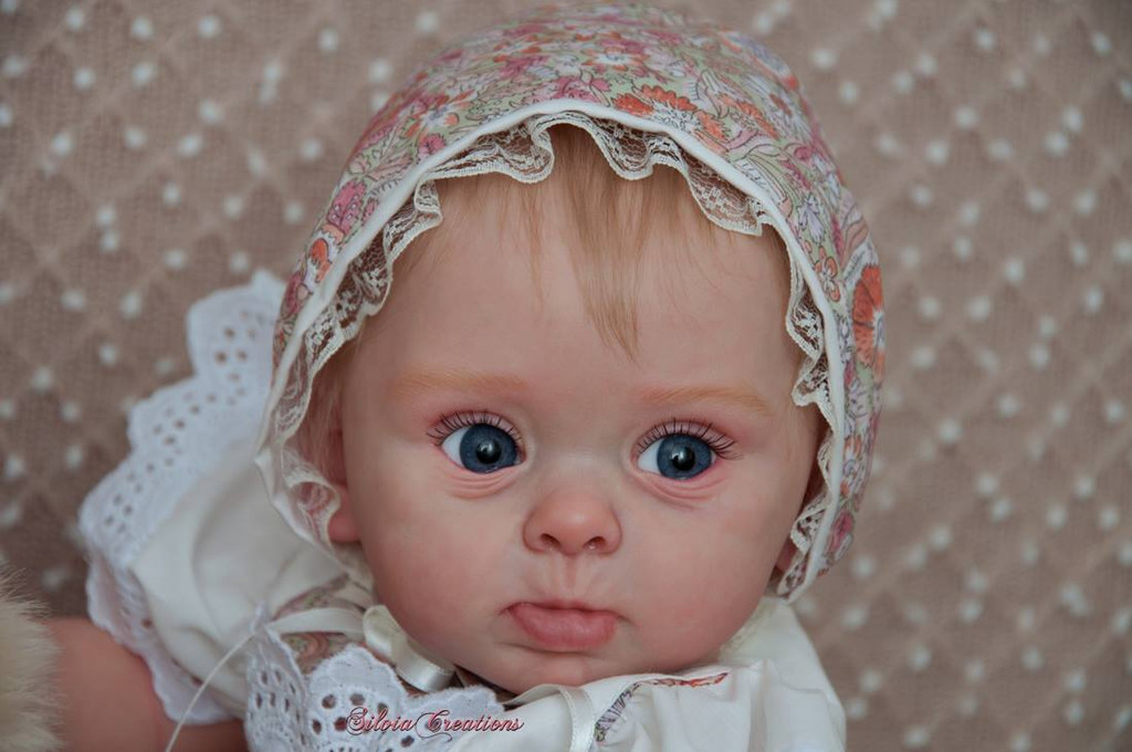 Princess Adelaide Reborn Vinyl Doll Kit by Andrea Arcello