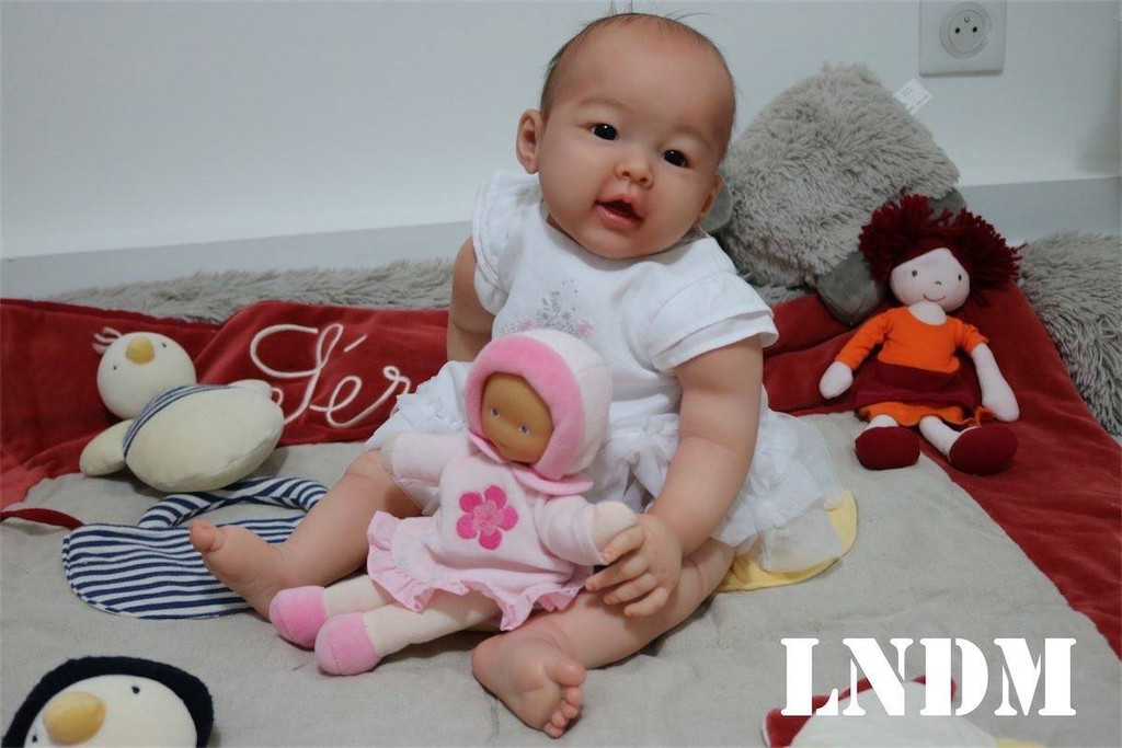 Mei Lien Reborn Vinyl Doll Kit by Ping Lau