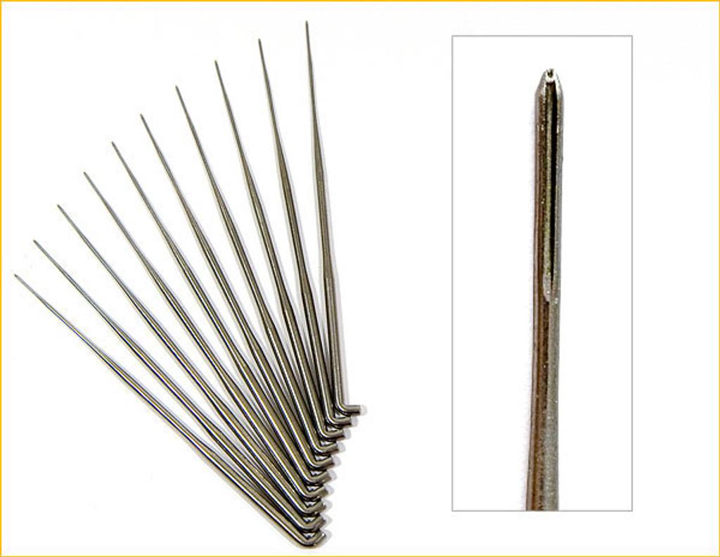 German Rooting Needles 46 Gauge With 6 Barbs - Pack of 10