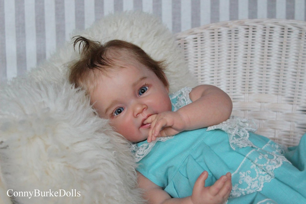 Sofia Reborn Vinyl Doll Kit by Ping Lau