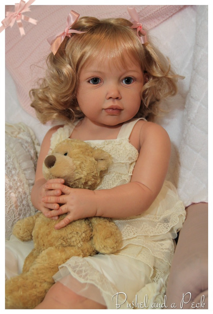 Avalon Full Sized Reborn Vinyl Doll Kit by Jannie De Lange