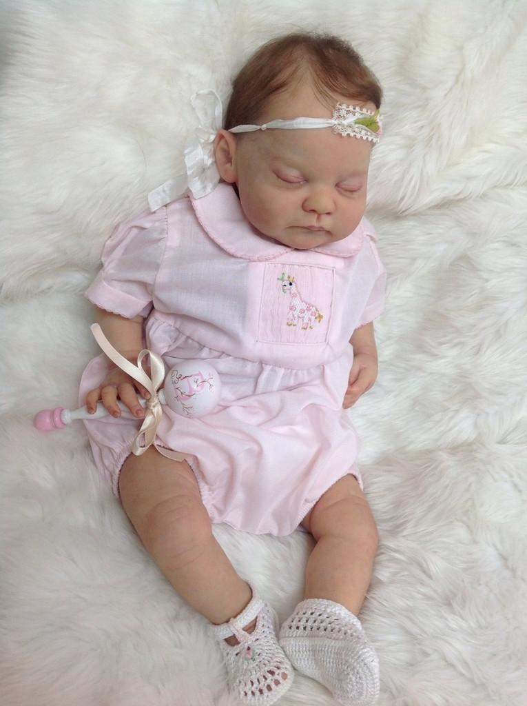 Blanca Reborn Doll Kit by Ping Lau